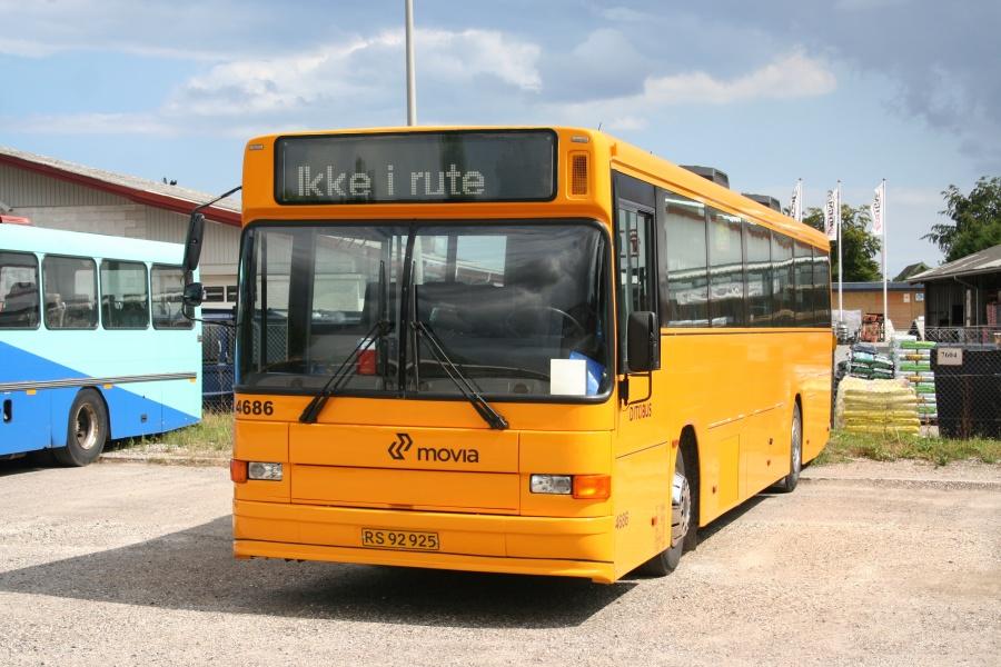 Ditobus 4686/RS92925 i Hårlev den 2. august 2010