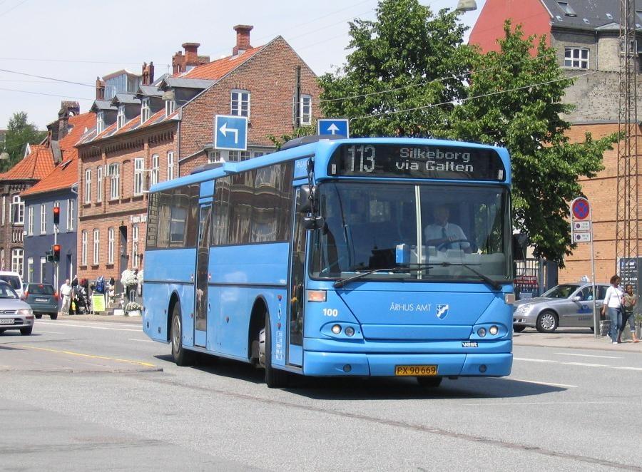 PP Busselskab 100/PX90669 på Århus Rutebilstation den 1. juli 2005