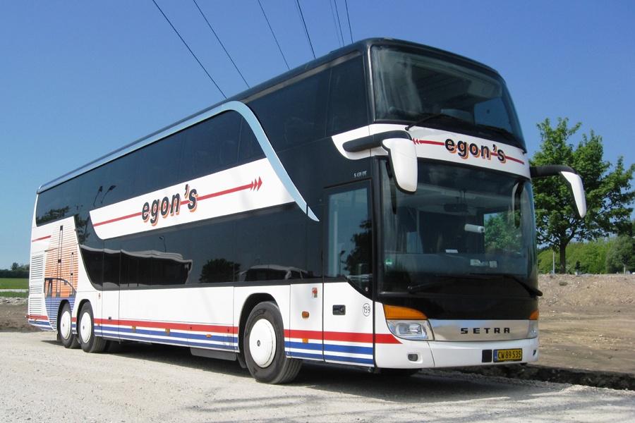 Egons Turist- og Minibusser 159/CW89535 ved Roskilde Vest st. den 31. maj 2013