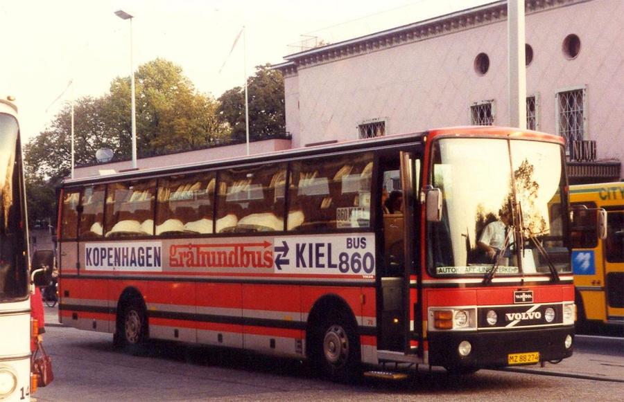 Jørgen Andersen 78/MZ88274 i Bernstorffsgade i København den 23. september 1992