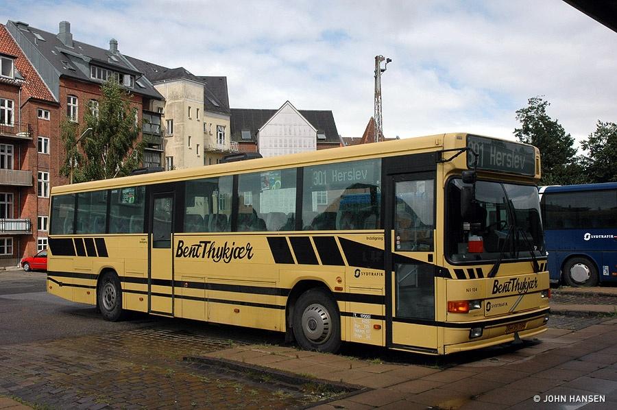 Bent Thykjær 134/RH95709 på Kolding rtb. den 24. august 2010