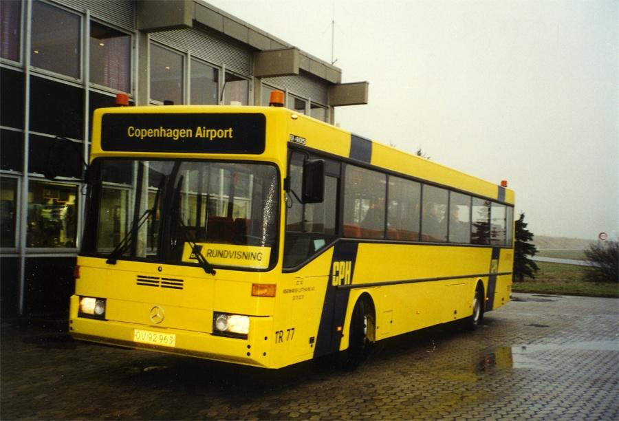 Københavns Lufthavne TR77/OV92963 i Kastrup Lufthavn i januar 2002
