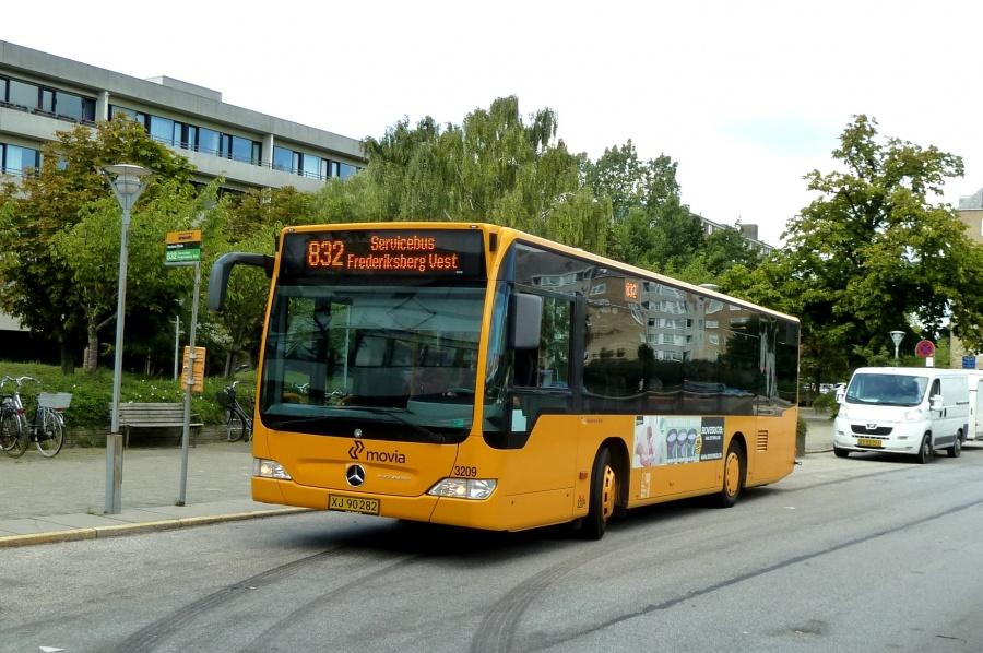 Anchersen Rute 3209/XJ90282 ved Domus Vista den 31. august 2010