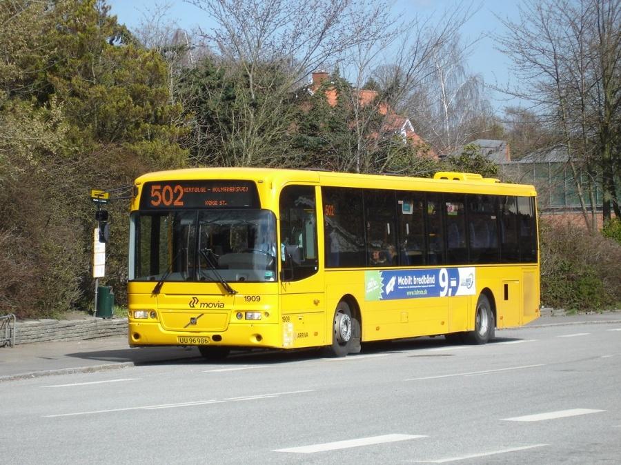 Arriva 1909/UU96986 i Herfølge den 22. april 2010