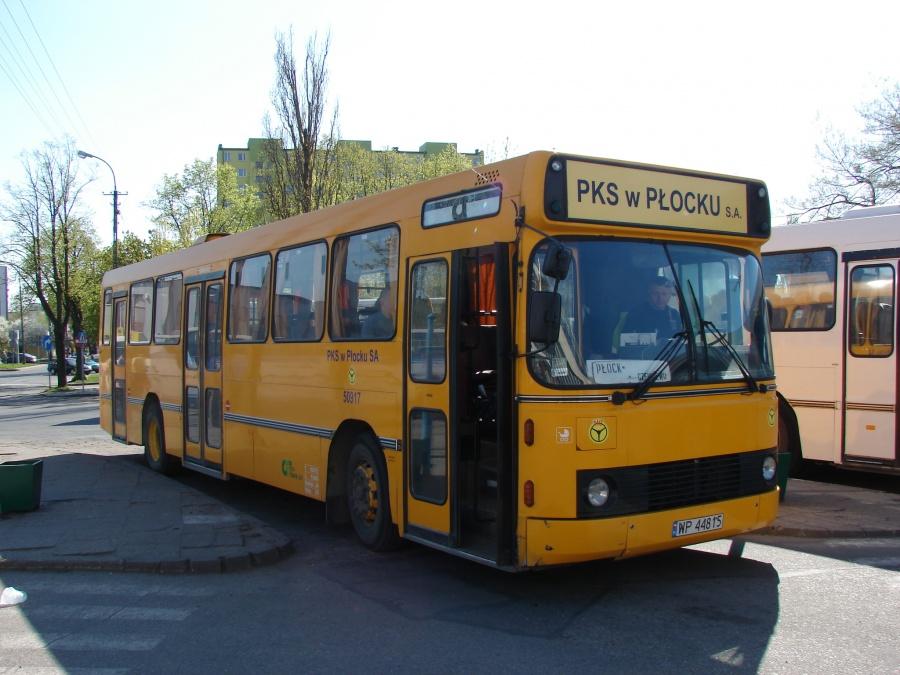 PKS Płock 50917/WP44815 i Płock i Polen den 22. april 2009