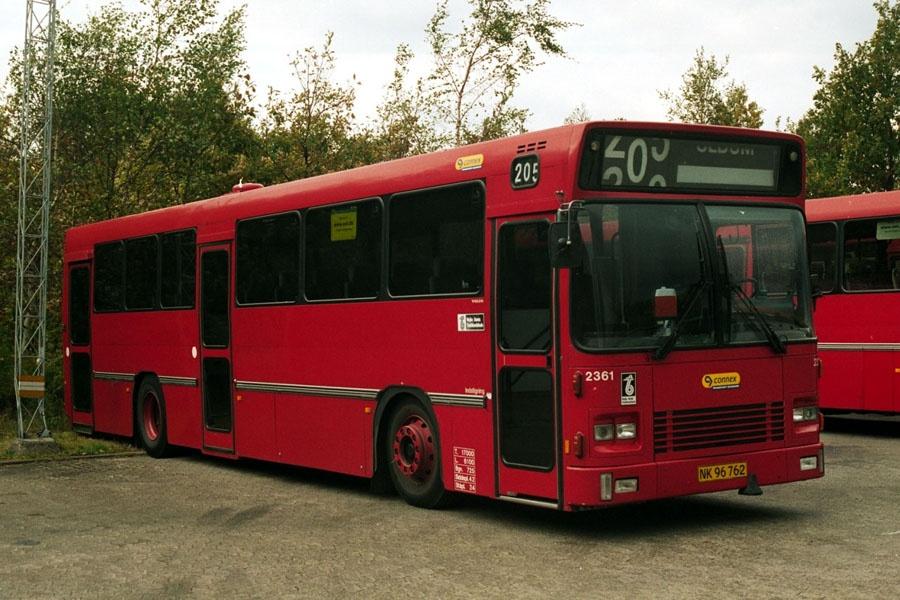 Connex 2361/NK96762 i Horsens den 12. oktober 2002
