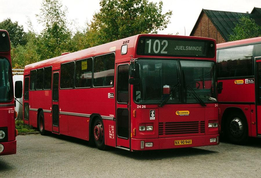 Connex 2426/NX90941 i Horsens den 12. oktober 2002