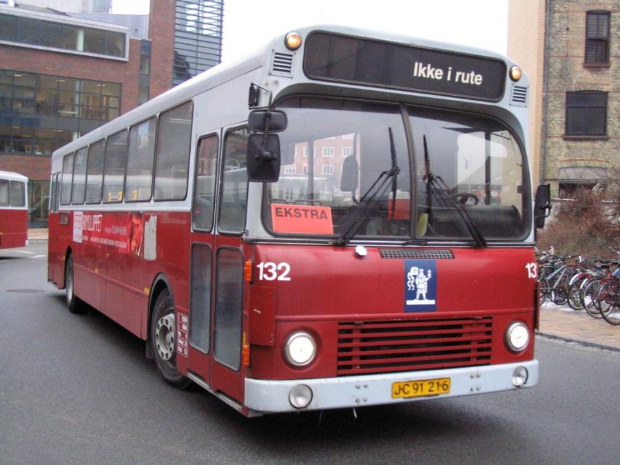 Odense Bybusser 132/JB91216 på Odense Banegård Center den 15. marts 2006