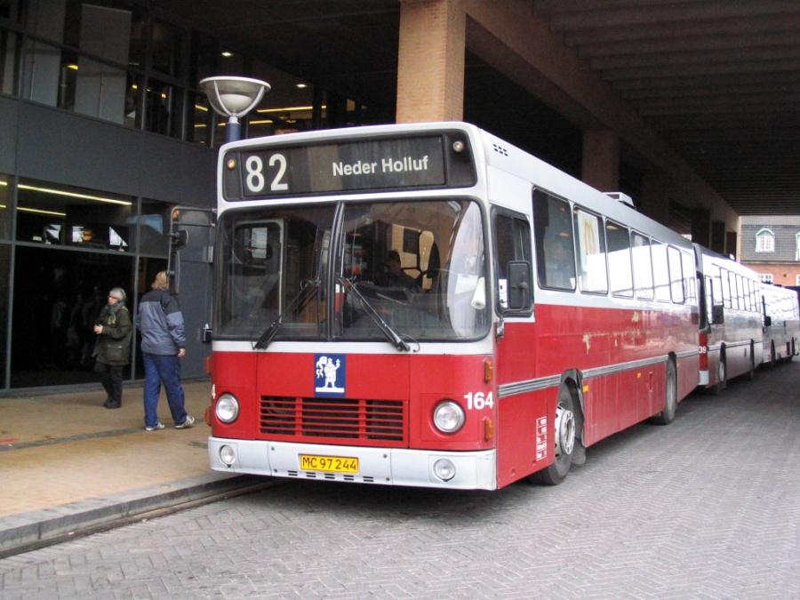 Odense Bybusser 164/MC97244 på Odense Banegård Center den 15. marts 2006