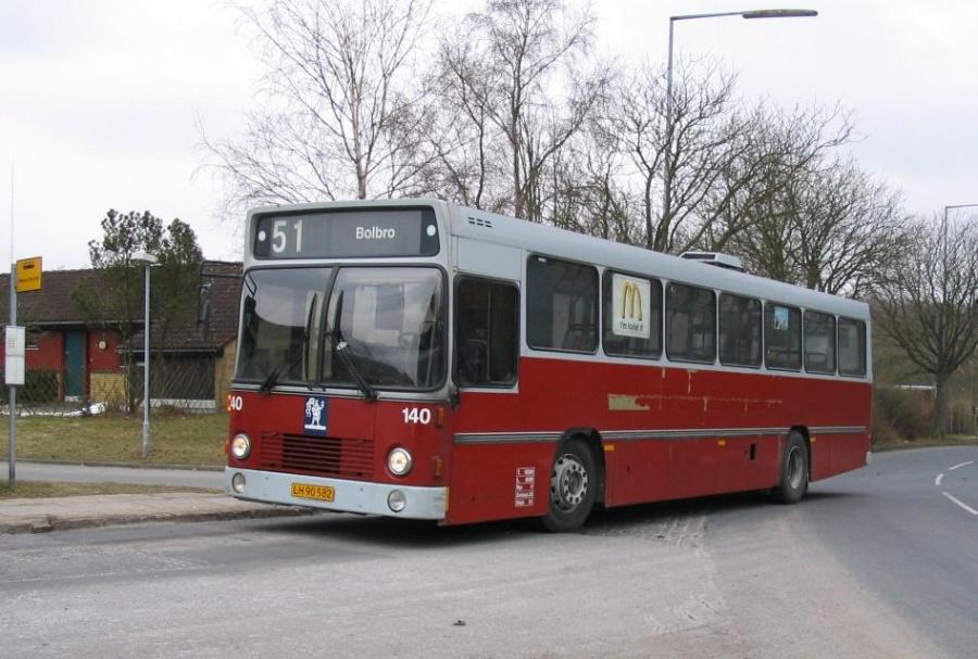 Odense Bybusser 140/LH90582 i Bolbro den 15. marts 2006