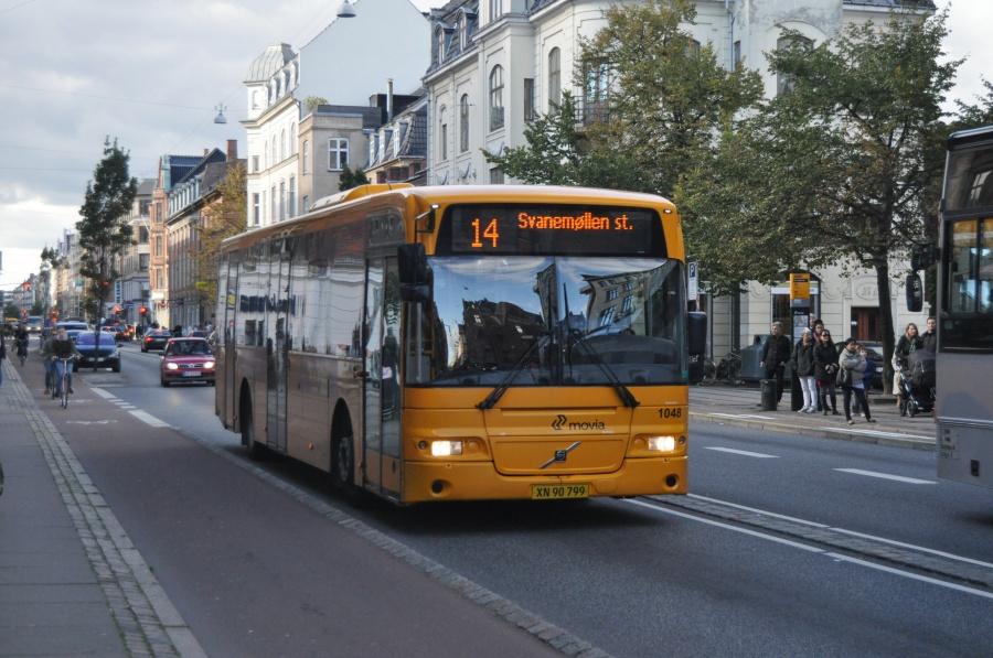 Arriva 1048/XN90799 på Gl. Kongevej i København den 29. september 2010