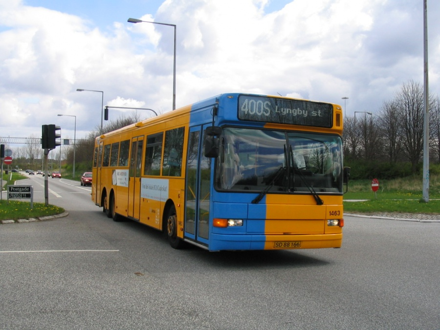 Arriva 1463/SD88166 på Blekinge Boulevard i Høje Taastrup den 24. april 2004