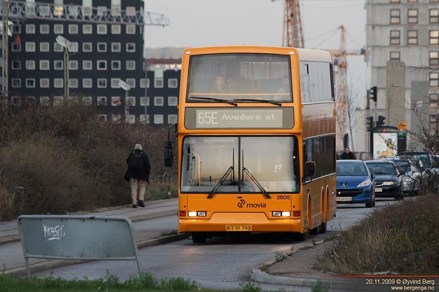 City-Trafik 2805/RT91792 ved Kalvebod Brygge i København den 20. november 2009