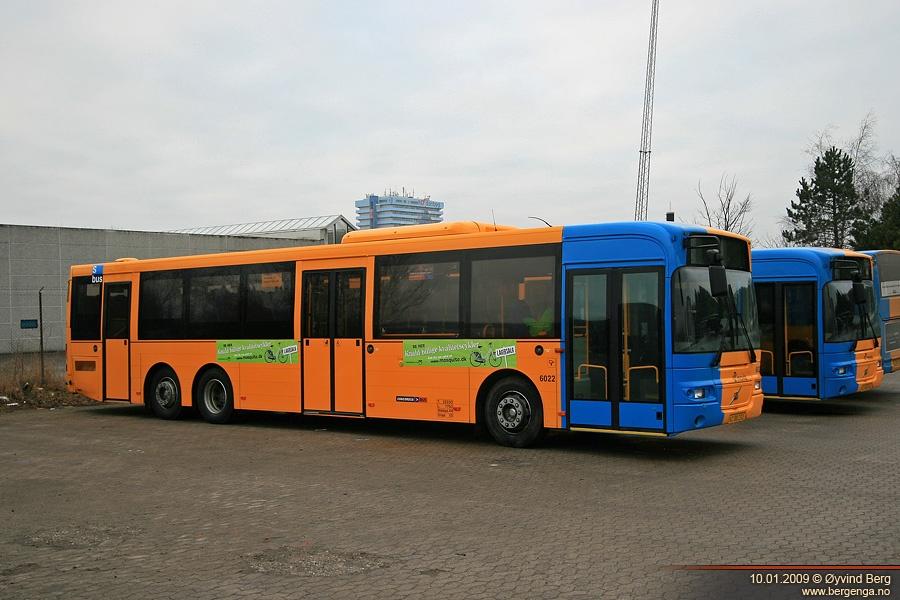 Concordia Bus 6022/XC88232 i garagen i Glostrup den 10. januar 2009