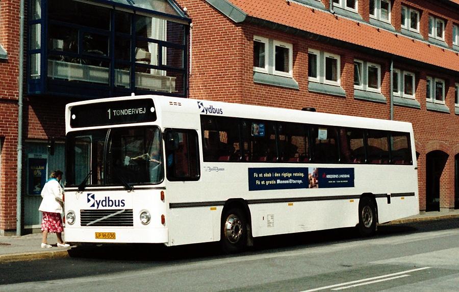 Aabenraa Byomnibusser LP96030 på Madevej i Aabemraa den 9. maj 1996
