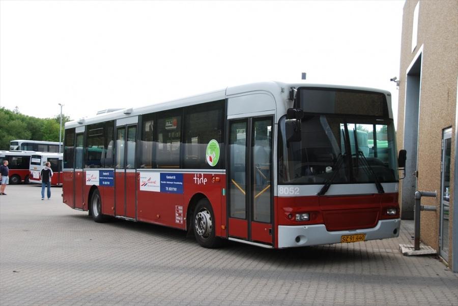Tide Bus 8052/SZ91440 i garagen i Odense den 29. maj 2010