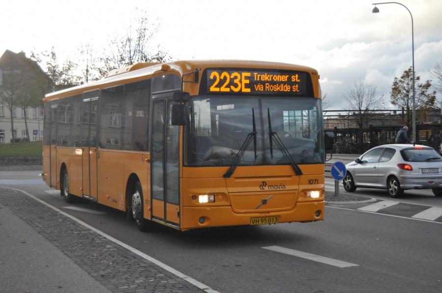 Arriva 1071/VH95013 ved Roskilde St. den 20. oktober 2010
