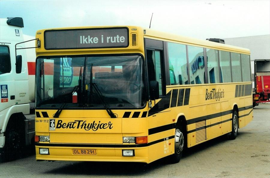 Bent Thykjær 112/OL88291 ved Buscenter Vest i Kolding den 5. august 2000