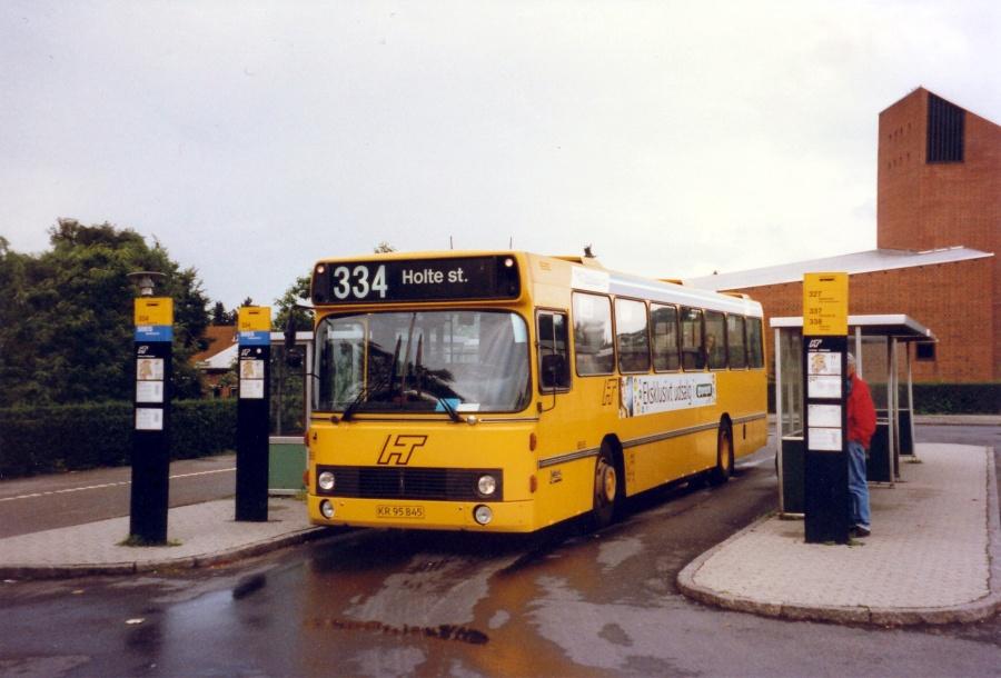Linjebus 6555/KR95845 på Bistrup Trafikplads den 27. juli 1997