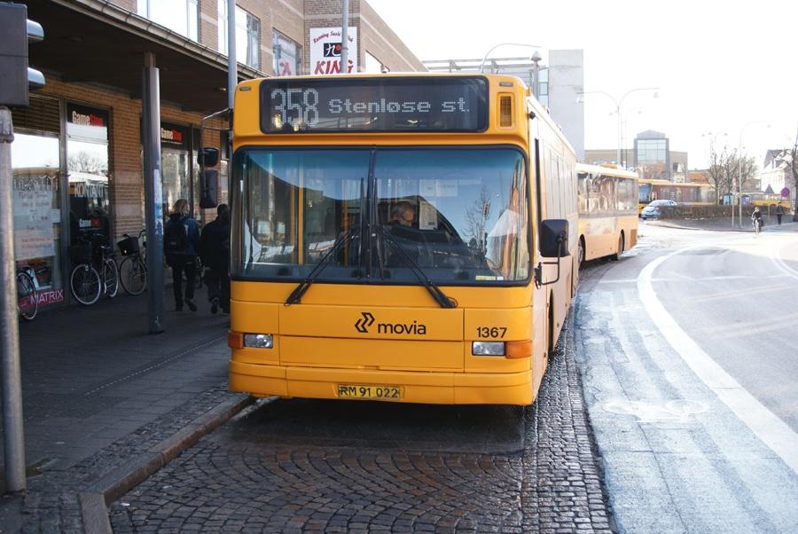 Arriva 1367/RM91022 ved Roskilde st. den 17. februar 2012