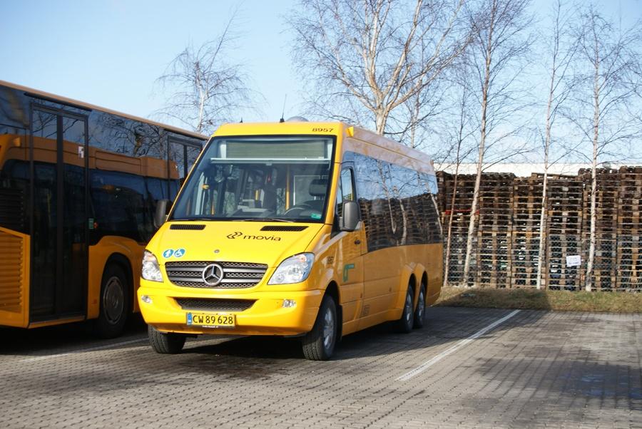City-Trafik 8957/CW89628 (demovogn) i Naverland garage i Glostrup den 17. februar 2012