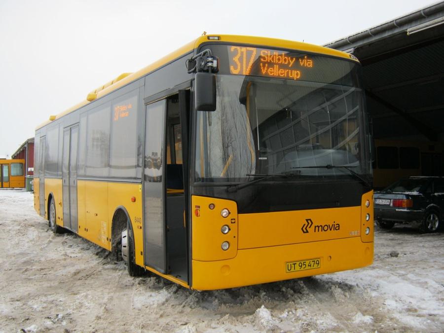 Netbus 8440/UT95479 i Skibby den 4. december 2010