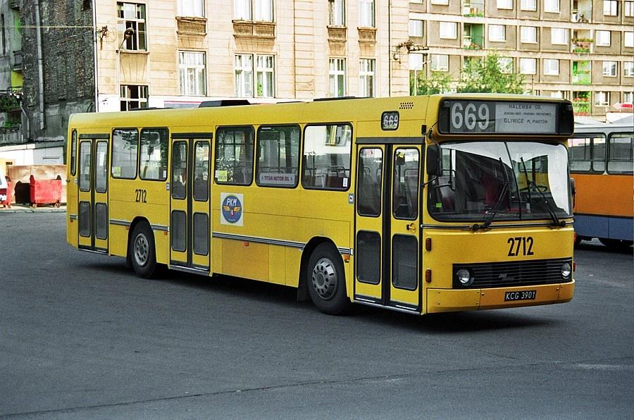 PKM Gliwice 2712/KCG3901 i Gliwice i Polen den 10. juli 1996