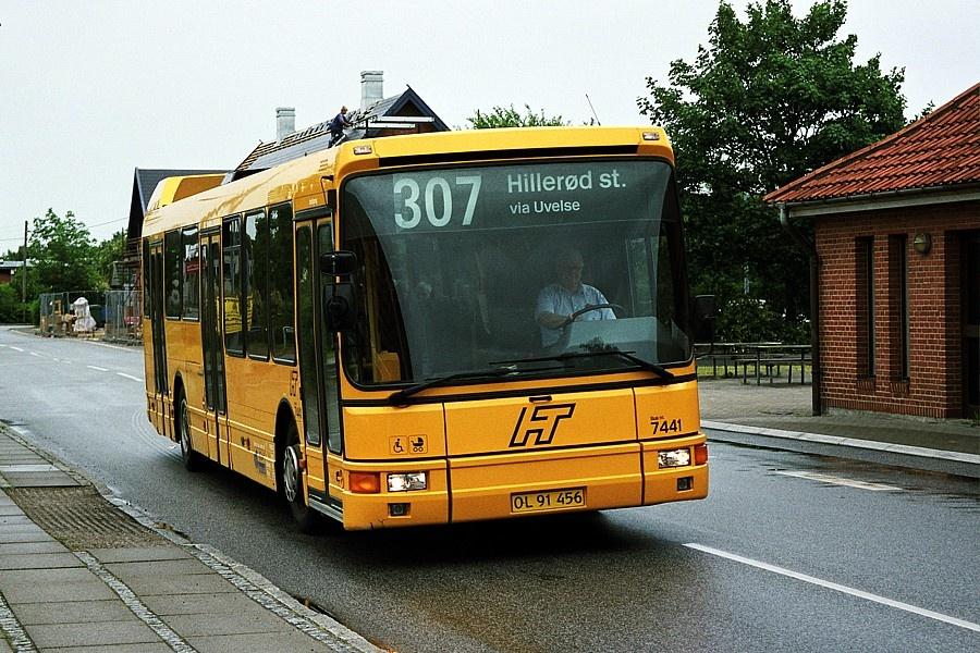 Fjordbus 7441/OL91456 i Slangerup den 9. juni 2004