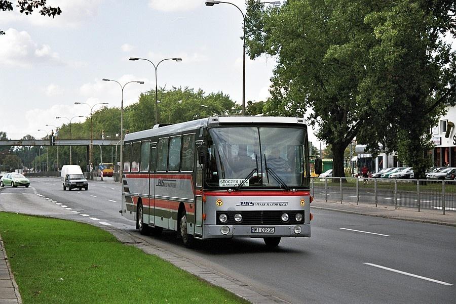 PKS Minsk Mazowiecki WI09935 i Warszawa i Polen den 1. september 2004