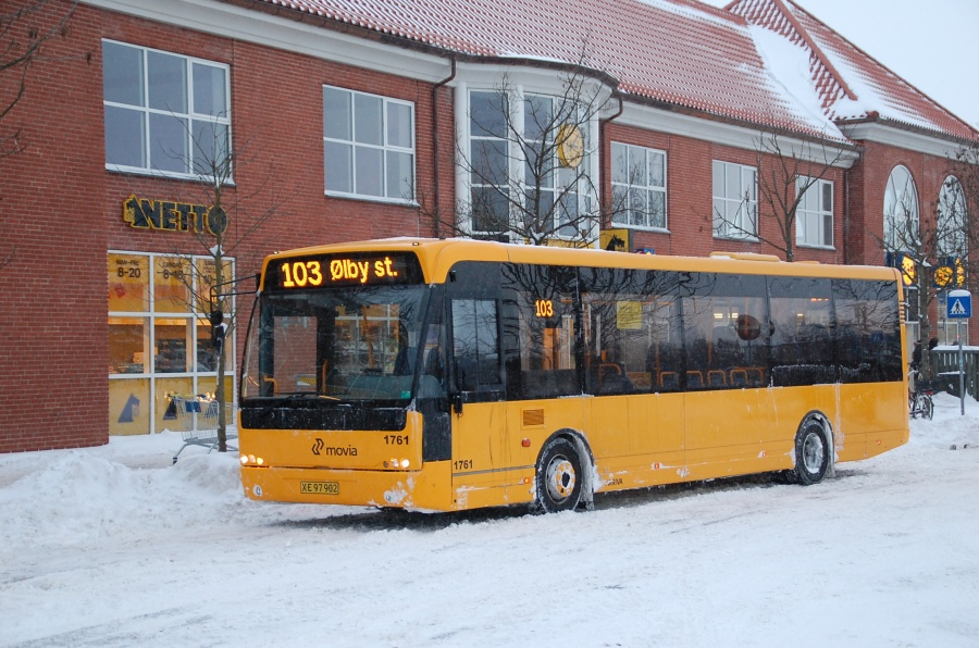 Arriva 1761/XE97902 ved Ølby Station den 23. december 2010
