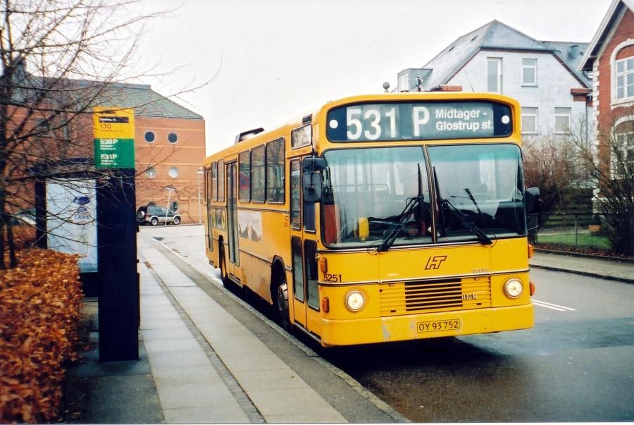 Connex 5251/OY93752 på Glosemosevej i Glostrup den 21. januar 2003