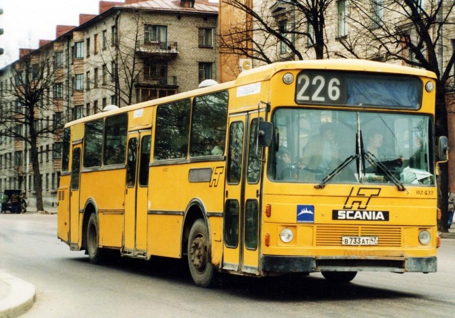 Vyborg 02422/B733AT47 i Vyborg i Rusland i ca. 1999