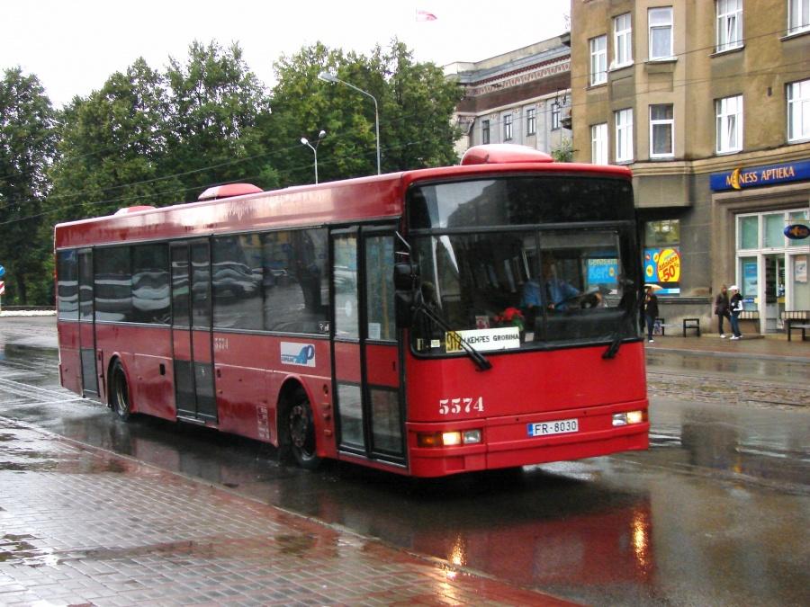 Liepajas Autobusu Parks 5574/FR8030 i Liepaja i Letland den 5. august 2008
