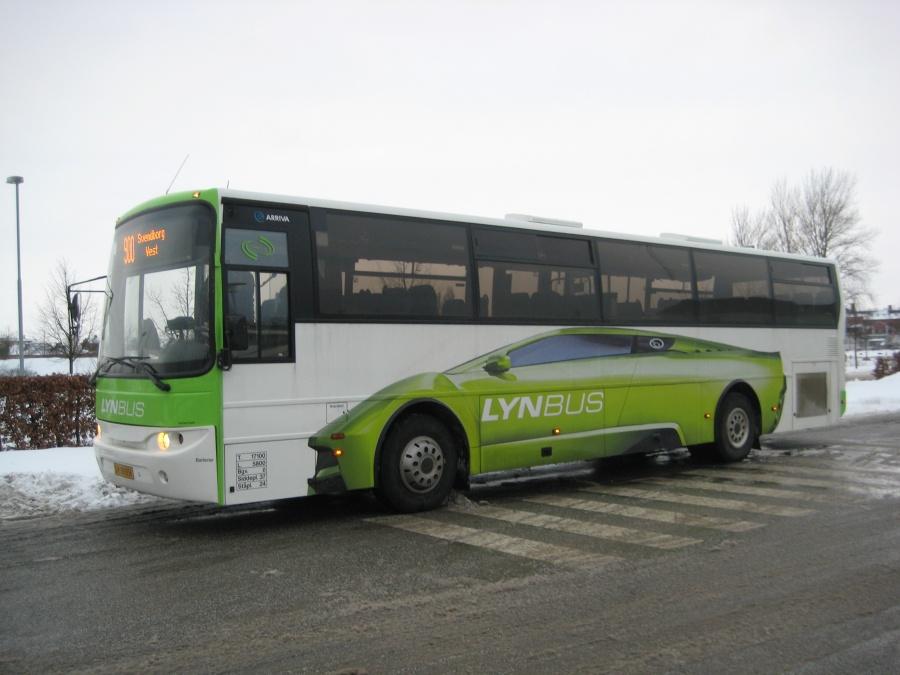 Arriva 2868/SY89051 på Nyborg St. den 3. februar 2010