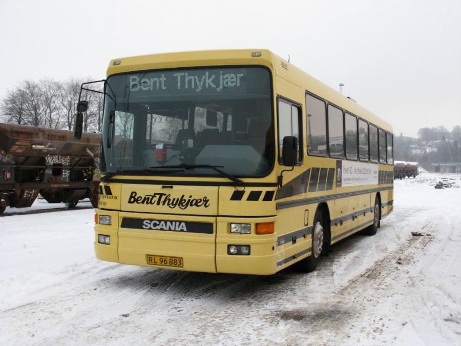 Bent Thykjær 131/RL96883 i garagen i Vejle den 29. december 2010