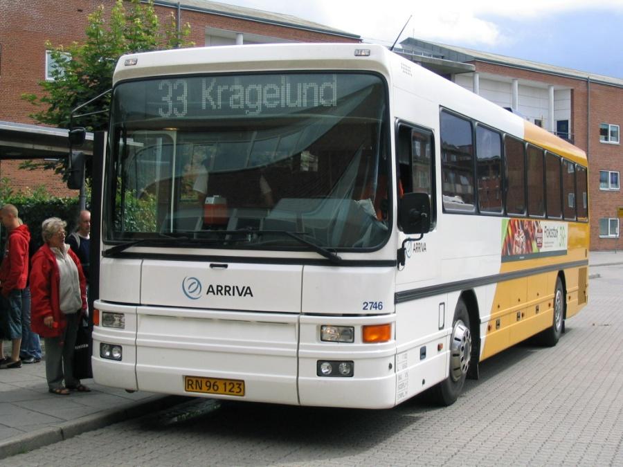 Arriva 2746/RN96123 på Torvet i Silkeborg den 20. juli 2005