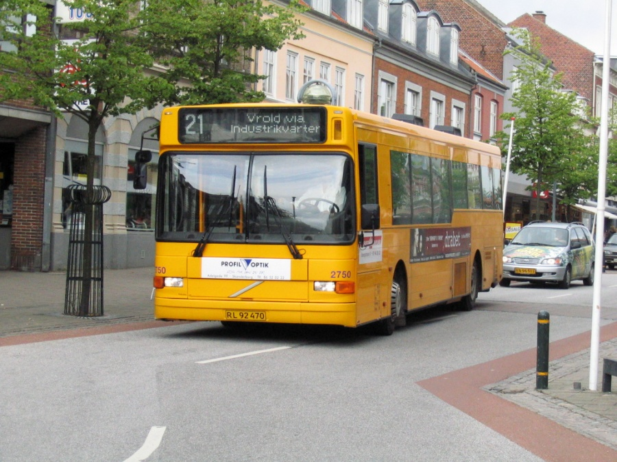 Connex 2750/RL92470 på Adelgade i Skanderborg den 10. august 2005
