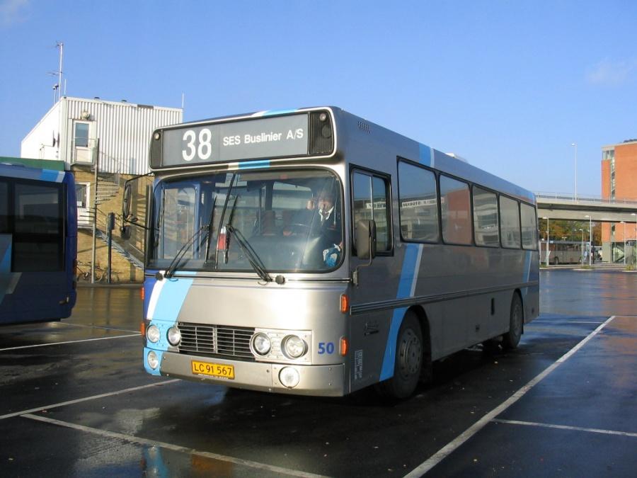SES Buslinier 50/LC91567 på Aalborg Busterminal den 28. oktober 2005