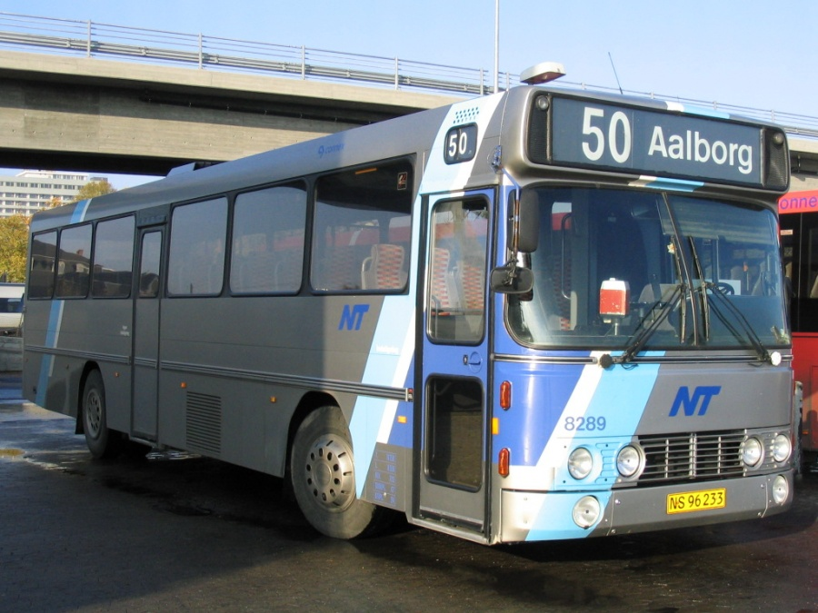 Connex 8289/NS96233 på Aalborg Busterminal den 28. oktober 2005