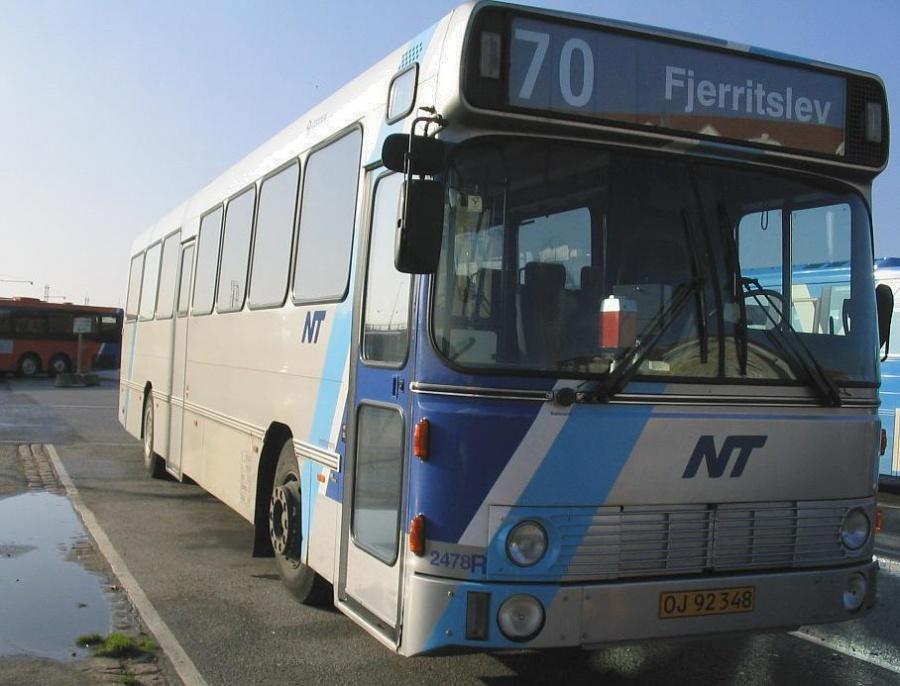 Connex 2478/OJ92348 i garagen i Aalborg den 28. oktober 2005