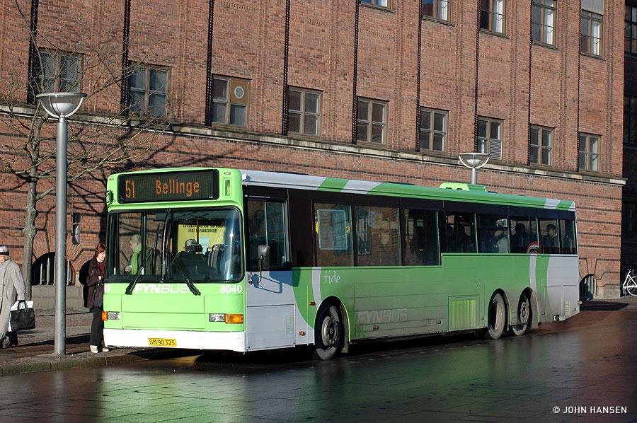 Tide Bus 8040/SM90325 på Klosterbakken i Odense den 21. januar 2011