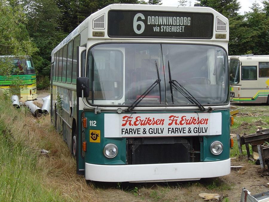 Ex. Randers Byomnibusser 112 i Tylstrup den 19. juni 2004