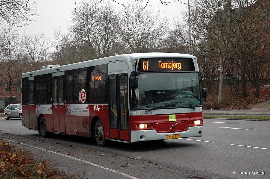Tide Bus 50/ST97957 på Thomas B Thriges Gade i Odense den 17. januar 2011