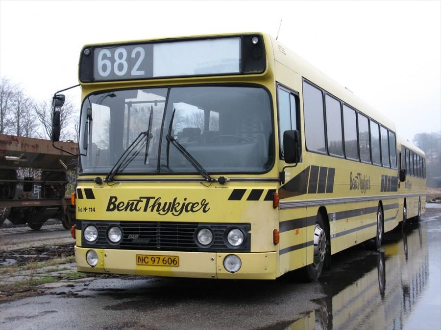 Bent Thykjær 114/NC97606 i garagen i Vejle den 16. januar 2011