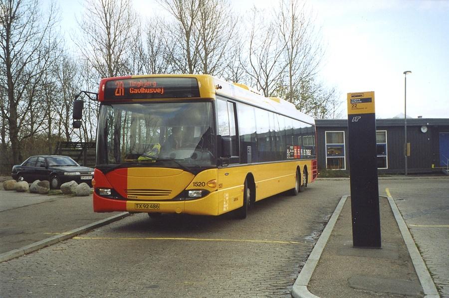 Arriva 1520/TX92486 i Tingbjerg den 22. november 2005