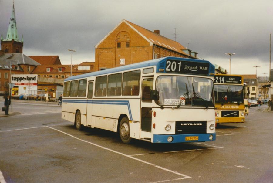 Viggo Hansen og Søn LJ96965 på Vejle rtb. i 1988