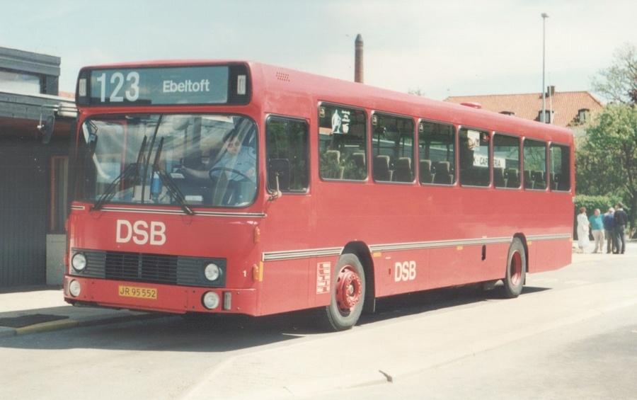 DSB 001/JR95552 i Ebeltoft den 22. maj 1988