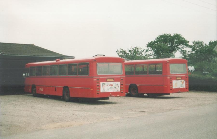 DSB 607/EL92566 og 606/EL92559 i Knebelbro i 1988