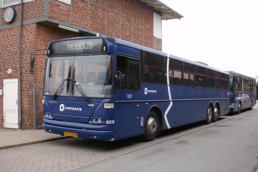 Tide Bus 8515/SJ94064 ved Bramming st. den 15. marts 2012