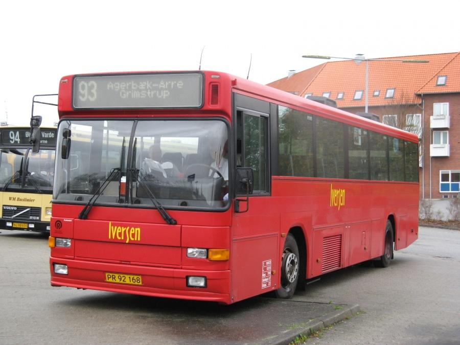 Iversen Busser PR92168 på Varde rtb. den 8. november 2006